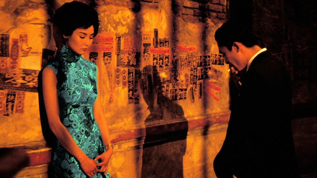 La poésie dans In the mood for love