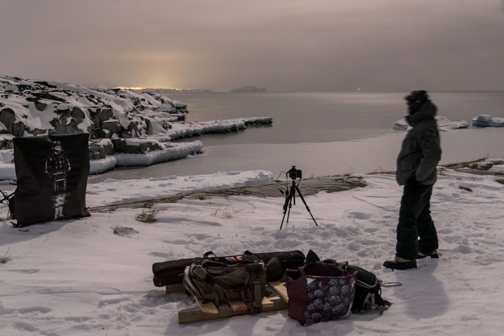 Northern Lights : L'âme du Nord de Fabrice Wittner - Making of - 06