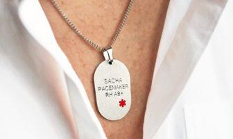 bijou d'identité médicale