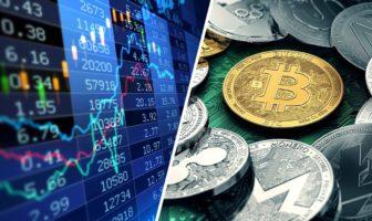 bourse vs cryptomonnaie