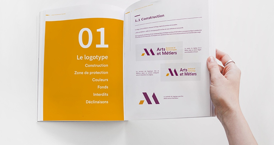 charte graphique : exemple de logobook
