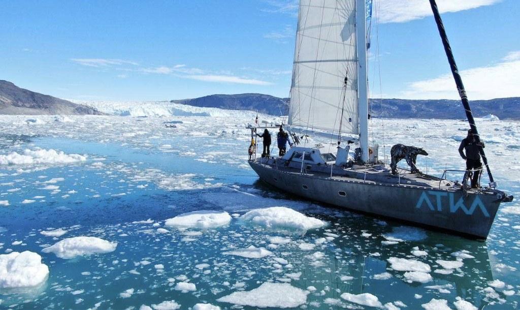 Expédition polaire du voilier Atka