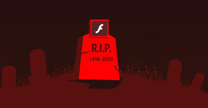 la fin de flash prévue pour 2020 - mort RIP