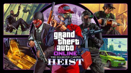 Braquage du Diamond Casino GTA Online