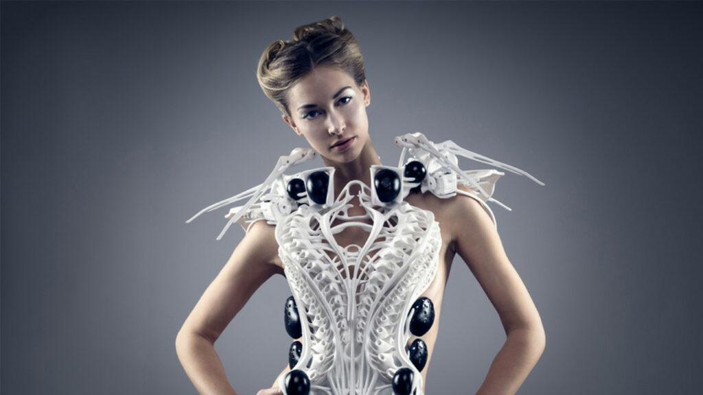 Impression 3d : la robe high-tech de Anouk Wipprecht