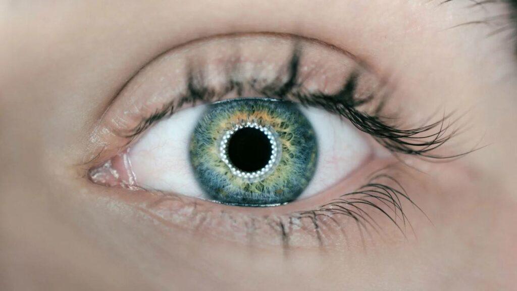lentille du futur en réalité augmentée de mojo vision