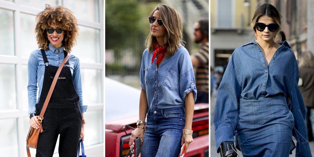 Mode : le bleu jean, couleur froide d'un été qui sera (très) chaud