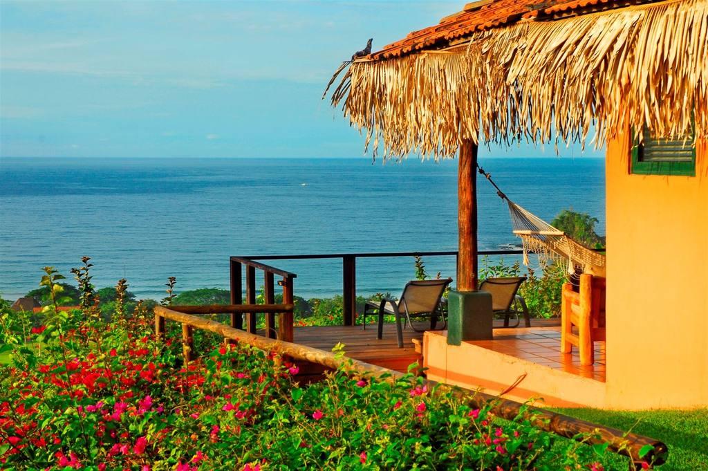 Hotel sur la plage au Costa-Rica