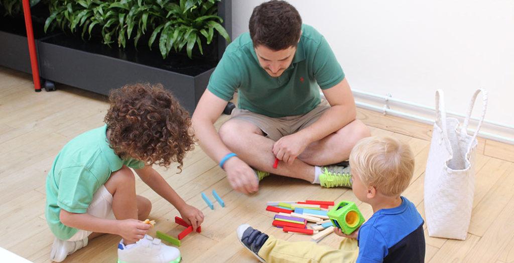 Jouer avec ses enfants