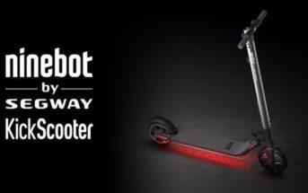 🔥 Code promo Ninebot ES2 : la trottinette électrique à 322€ en mai [envoi EU]