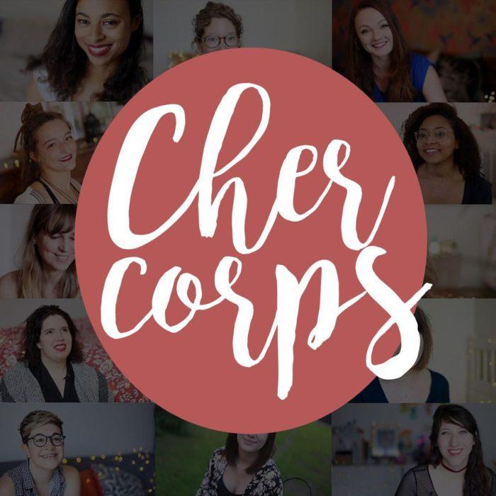 Vignette cher corps podcast féministe bodypositive