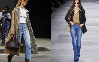 Le jean flare : pièce incontournable des vestiaires féminins