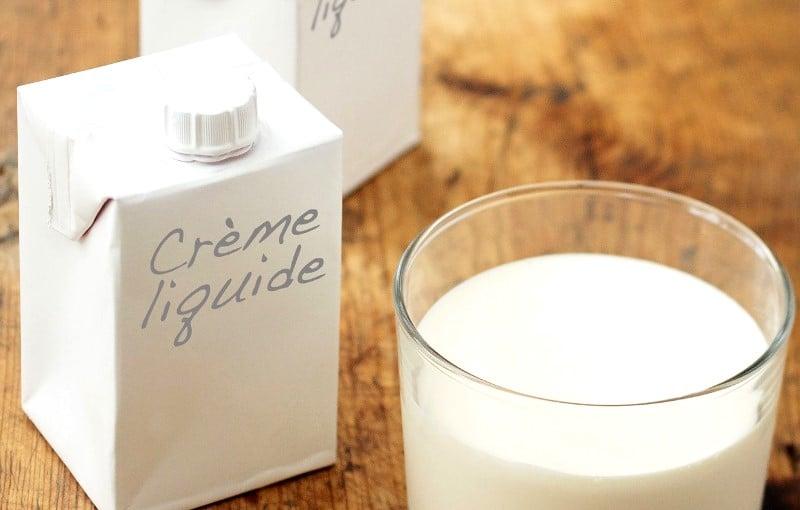 Crème fraîche liquide