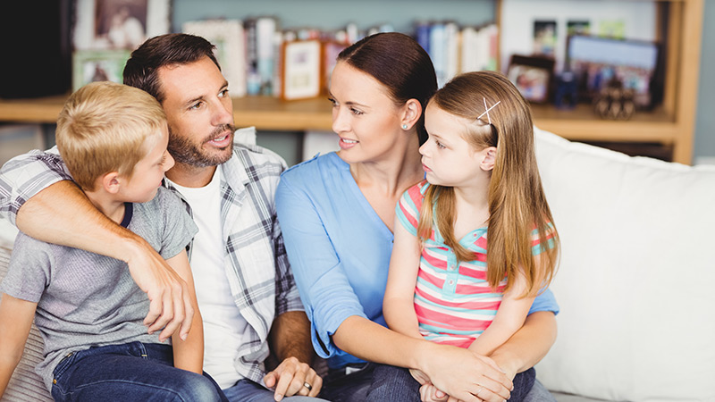 Discussion parents enfants