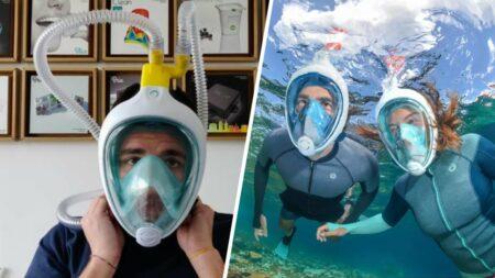 masque de plongée decathlon respirateur artificiel