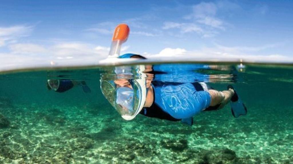 masque de snorkeling Easybreath de Décathlon