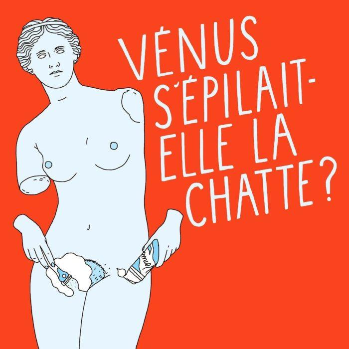 Vignette vénus s'épilait elle la chatte podcast féministe histoire de l'art