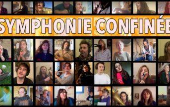 """Symphonie Confinée : 45 artistes chantent """"La Tendresse"""" de chez eux"""