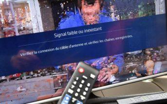 L'image de ma télévision saute ou pixellise, que faire ?