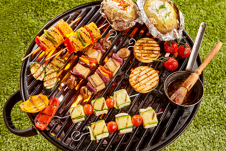 Barbecue veggie