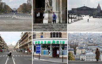 Confinement : les grandes villes de France et du monde désertées [vidéo]