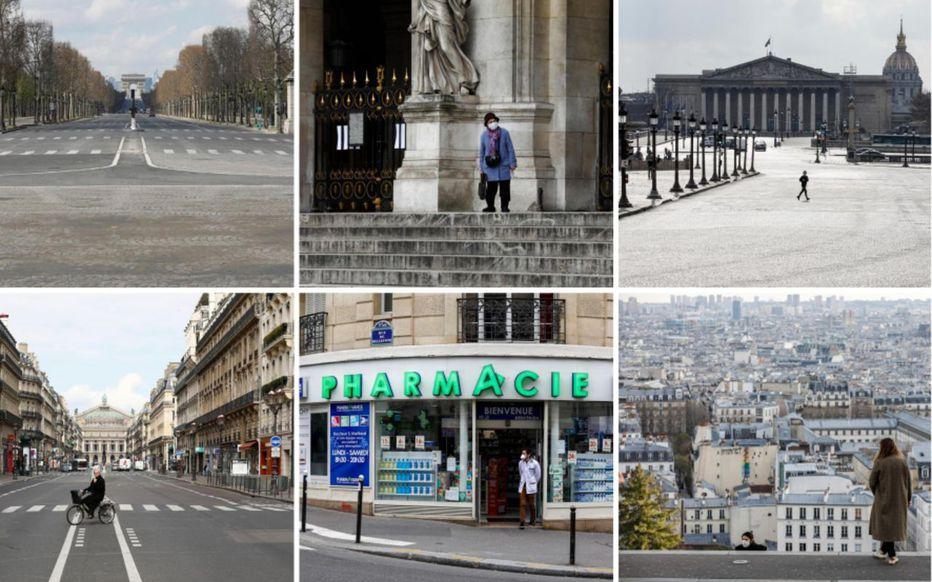 Confinement : Paris désert