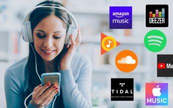 Abonnement streaming musique : comparatif des plateformes musicales (Spotify, Deezer...)
