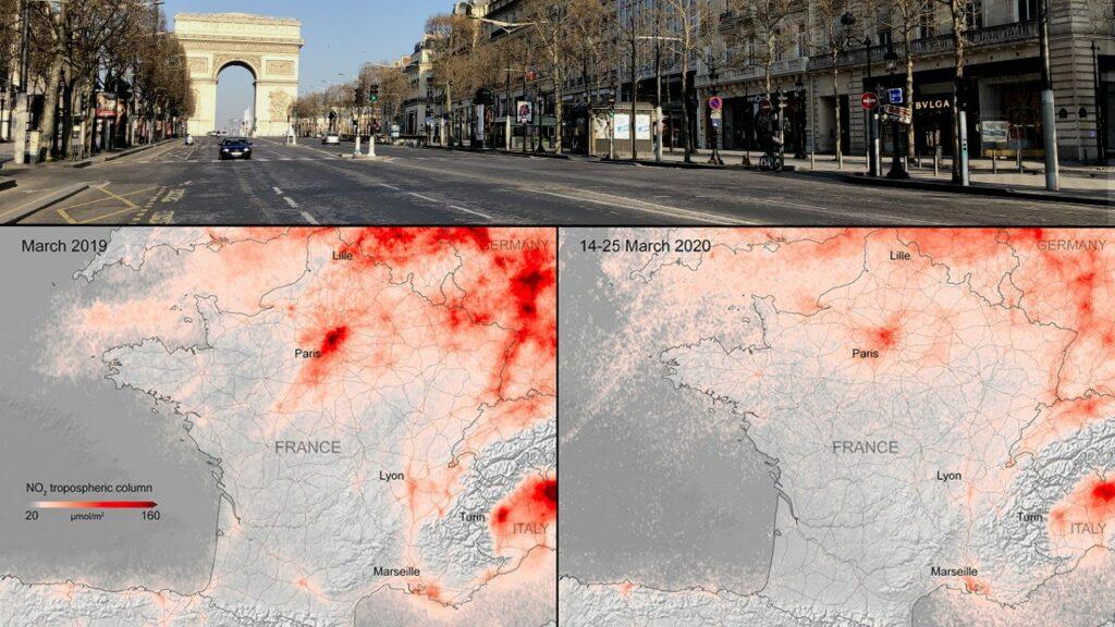 confinement : impact sur la qualité de l'air en France
