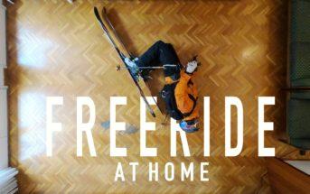 Stop motion : il fait une vidéo de ski dans son salon pendant le confinement