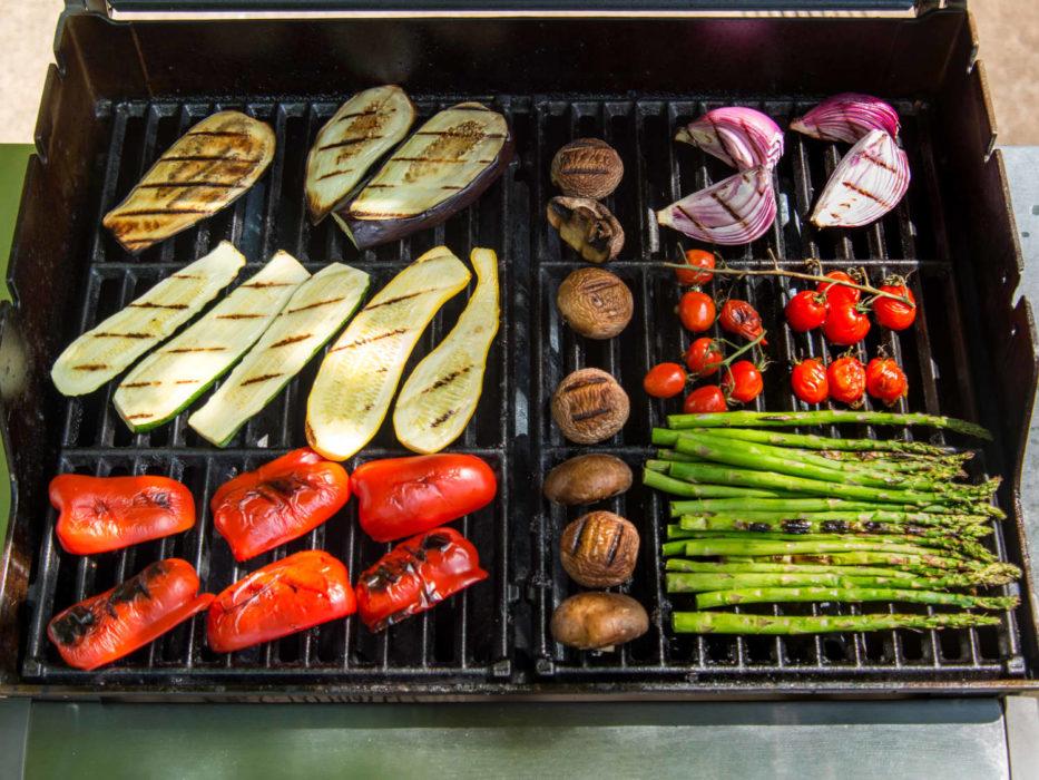 Légumes grillés pour un BBQ veggie