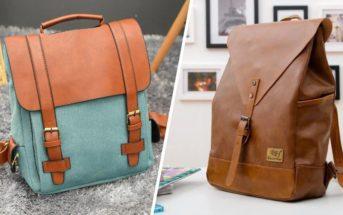 Le sac à dos vintage : l'accessoire mode tendance pour un look rétro chic décontracté