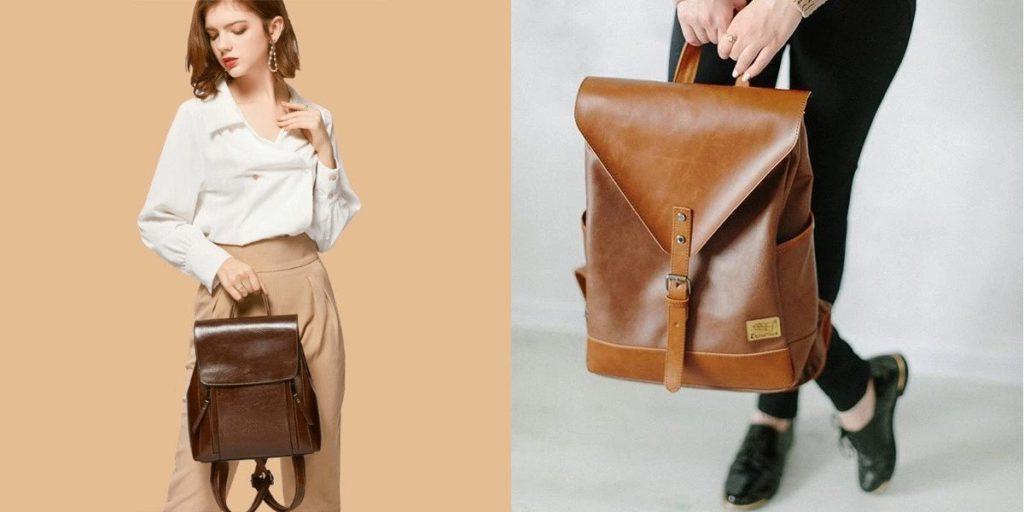 sac à dos vintage femme