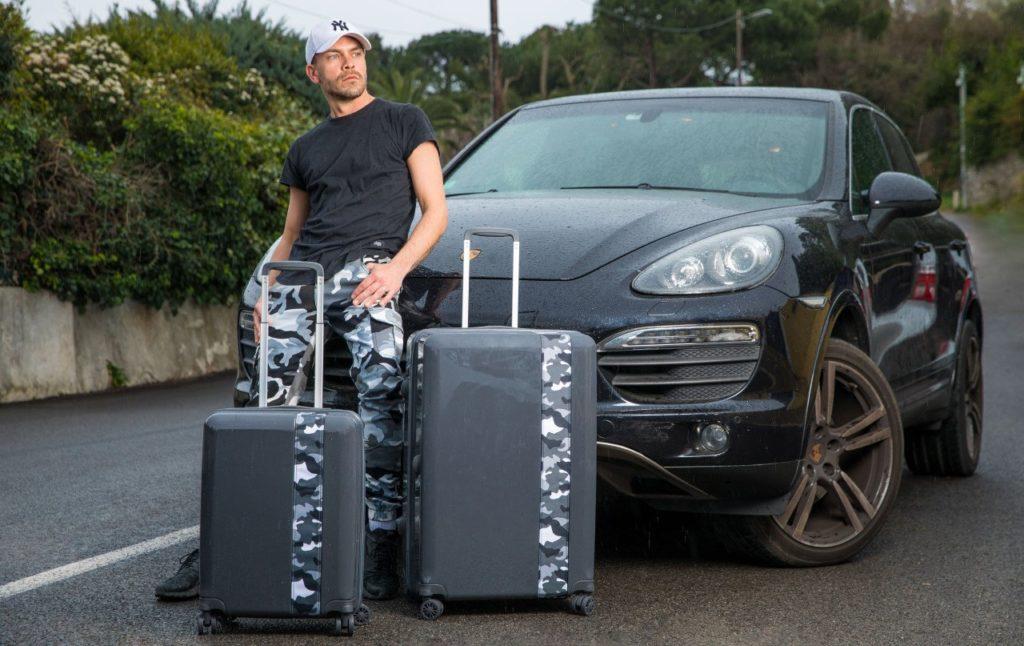 bande à part : la valise personnalisée pour homme
