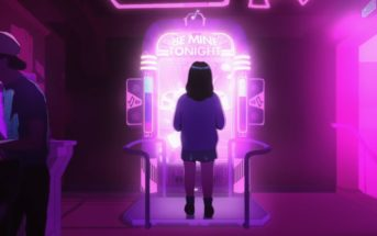 Be Mine Tonight : le clip d'animation de Breakbot sur une danseuse d'arcade
