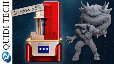 imprimante 3d quidi tech lcd shadow 55s