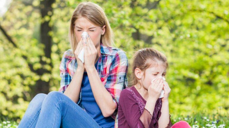 personnes allergiques au pollen