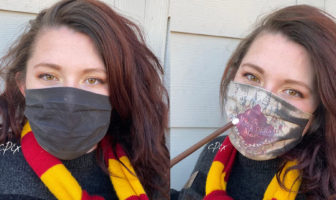 Masque de protection harry potter