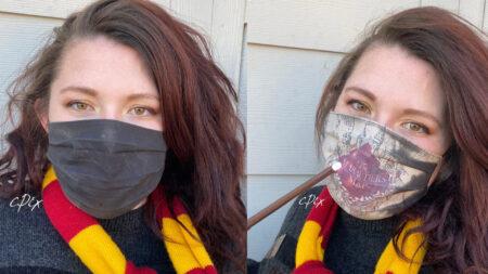 Masque de protection harry potter