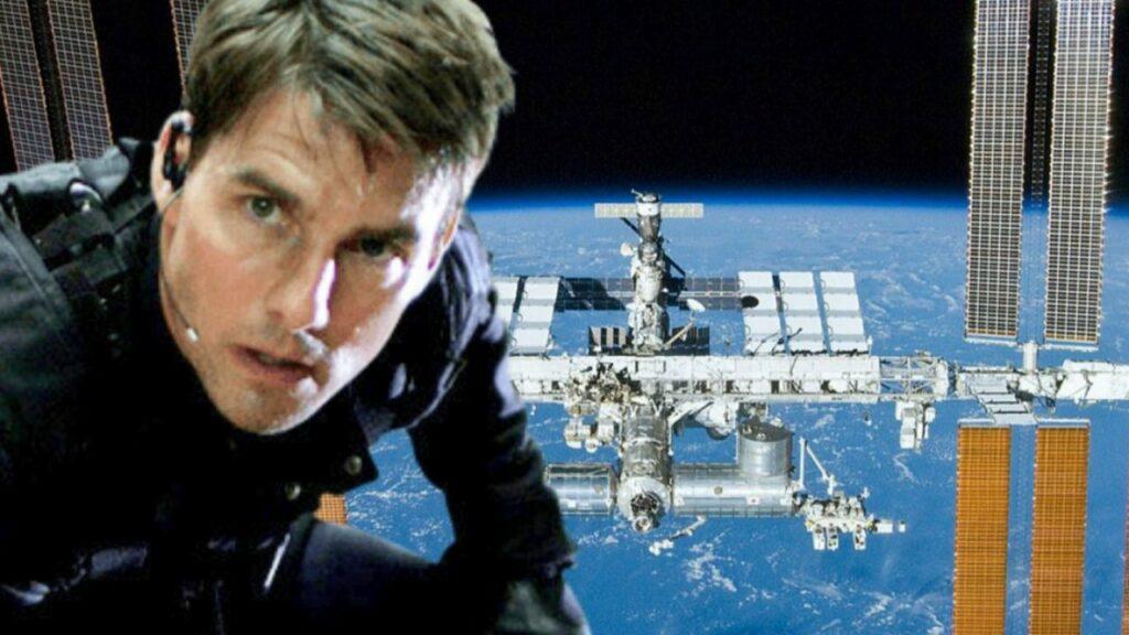premier film dans l'espace