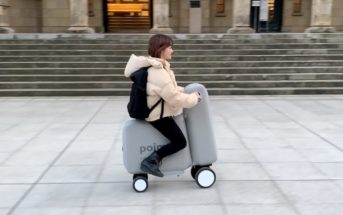 Poimo : le scooter électrique gonflable et pliable dans un sac