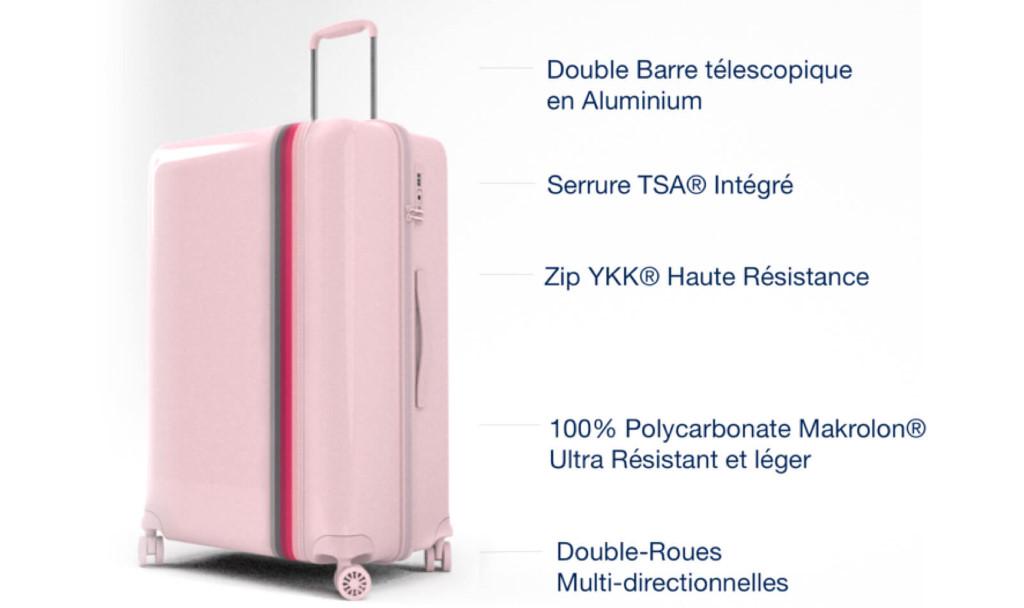 qualité des valises bande à part
