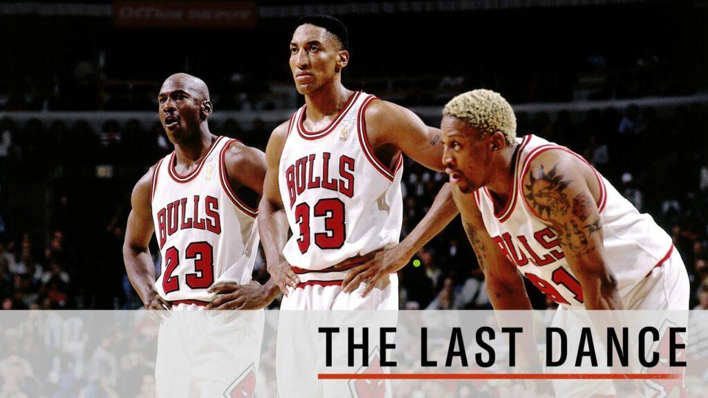 Série-documentaire The last danse avec Michael Jordan