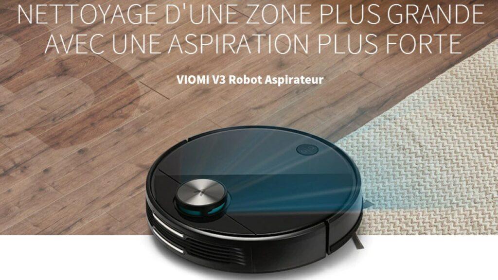 viomi v3 robot aspirateur