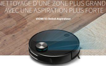 🔥 VIOMI V3 : code promo sur l'aspirateur robot 2020 de Xiaomi