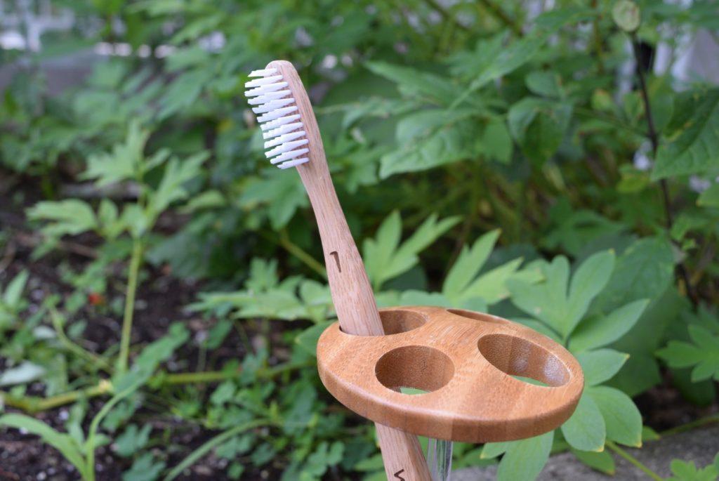 Brosse à dents sans plastique