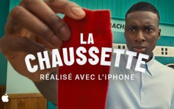 La chaussette : le court-métrage coloré réalisé à l'iPhone [Pub Apple 2020]