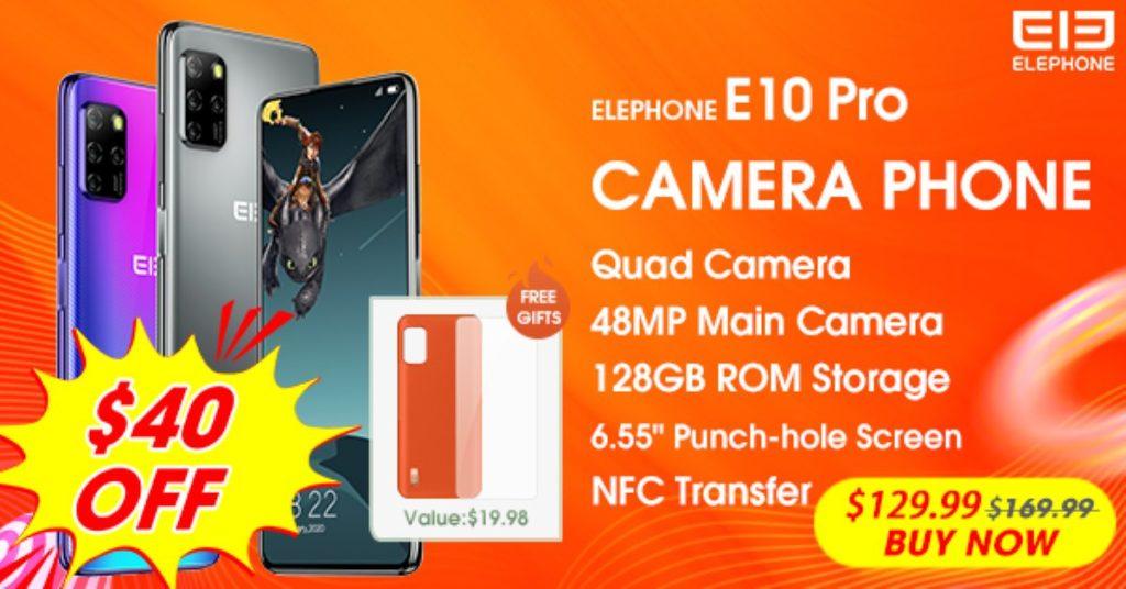 Elephone E10 Pro promo