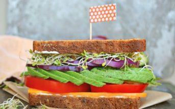 Cuisine légère : 5 sandwiches sans viande pour les petites faims
