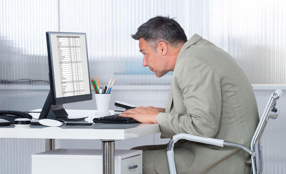 Rester assis favorise le mal de dos