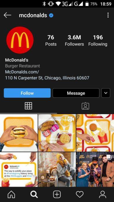 compte d'entreprise sur instagram - 03